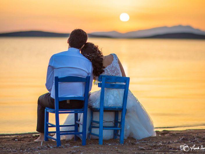 Ayvalık Cunda Düğün Fotoğrafları • Burçin ve Cem