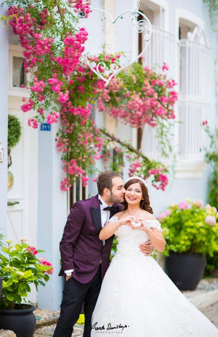 Seda ve Bahadır Bozcaada Dış Mekan Çekimi Düğün Fotoğrafları. Edremit Düğün Fotoğrafçısı Funda Demirkaya (1)