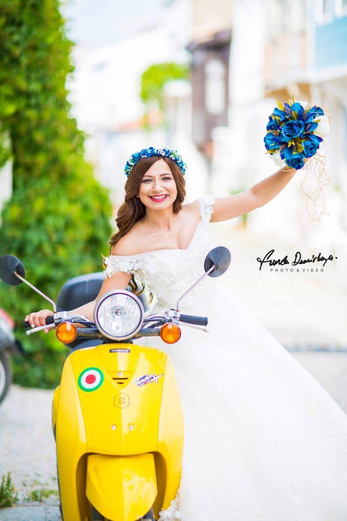 Seda ve Bahadır Bozcaada Dış Mekan Çekimi Düğün Fotoğrafları. Edremit Düğün Fotoğrafçısı Funda Demirkaya (2)