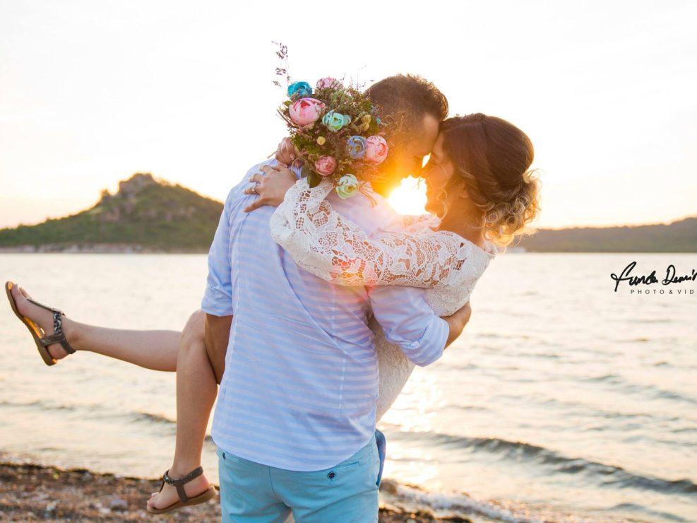 Betül ve Yaşar Ayvalık Cunda Dış Çekim doğa çekimi düğün fotoğrafları