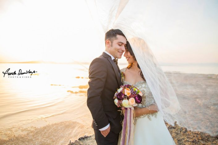 Fehime ve Abdurrahman Cunda Ayvalık dış mekan düğün çekimleri (11)