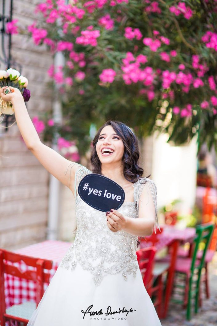 Fehime ve Abdurrahman Cunda Ayvalık dış mekan düğün çekimleri (5)