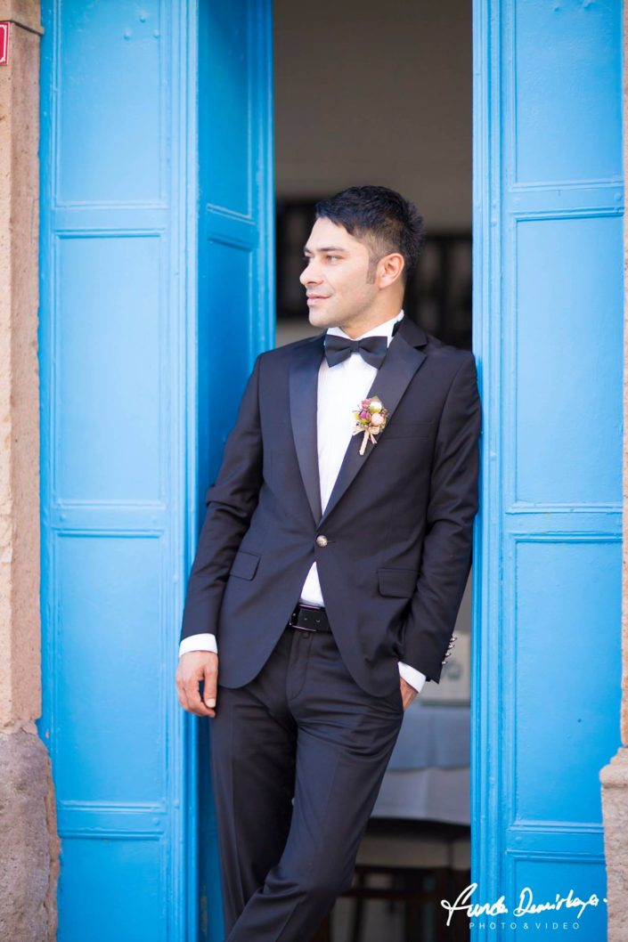 Fehime ve Abdurrahman Cunda Ayvalık dış mekan düğün çekimleri (6)