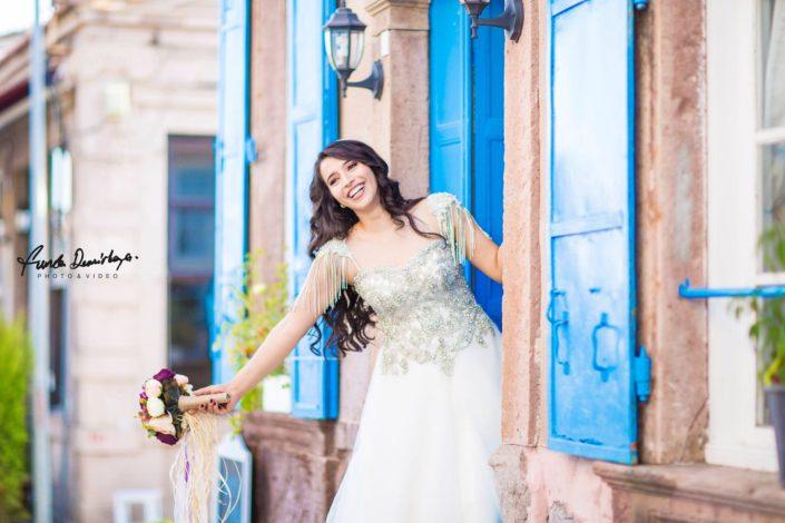 Fehime ve Abdurrahman Cunda Ayvalık dış mekan düğün çekimleri (7)