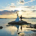 Merve ve Ahmet Ayvalık Cunda Dış Mekan Çekimi düğün fotoğrafları balıkesir düğün fotoğrafçısı