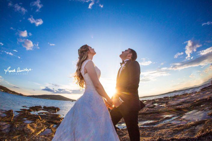 Merve ve Ahmet Ayvalık Cunda Dış Mekan Çekimi düğün fotoğrafları balıkesir düğün fotoğrafçısı (10)