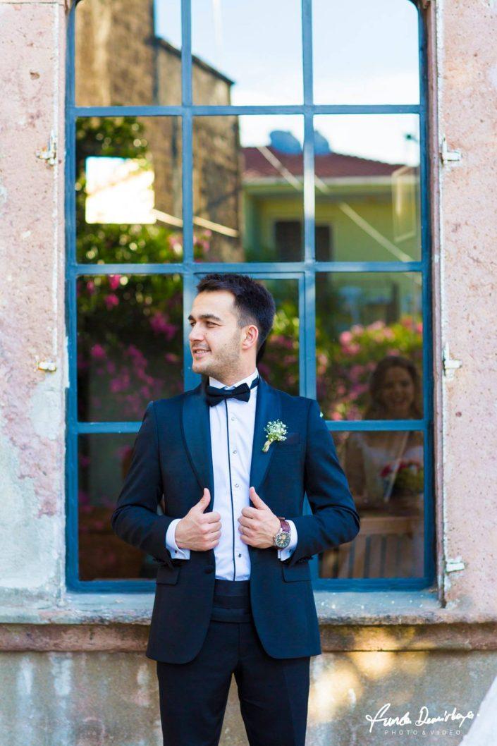 Merve ve Ahmet Ayvalık Cunda Dış Mekan Çekimi düğün fotoğrafları balıkesir düğün fotoğrafçısı (4)