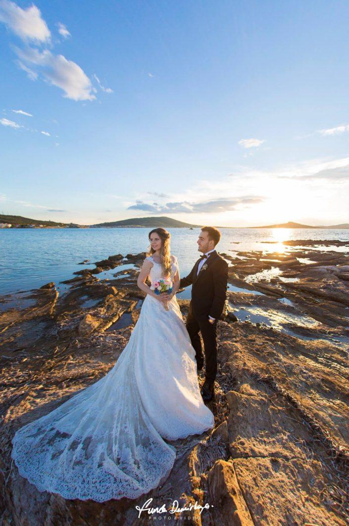 Merve ve Ahmet Ayvalık Cunda Dış Mekan Çekimi düğün fotoğrafları balıkesir düğün fotoğrafçısı (9)
