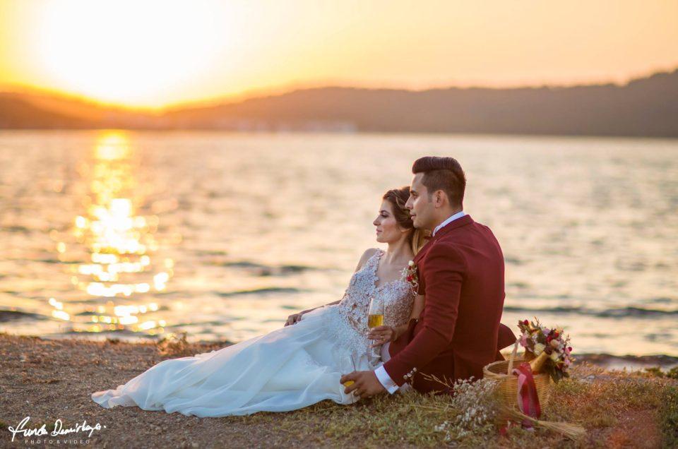 yasemin ve burak ayvalık cunda edremit balıkesir dış mekan doğa düğün fotoğraf çekimi (3)