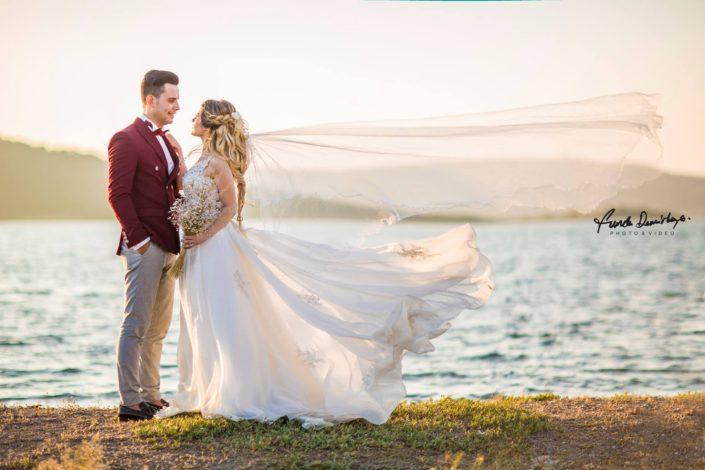 yasemin ve burak ayvalık cunda edremit balıkesir dış mekan doğa düğün fotoğraf çekimi (4)