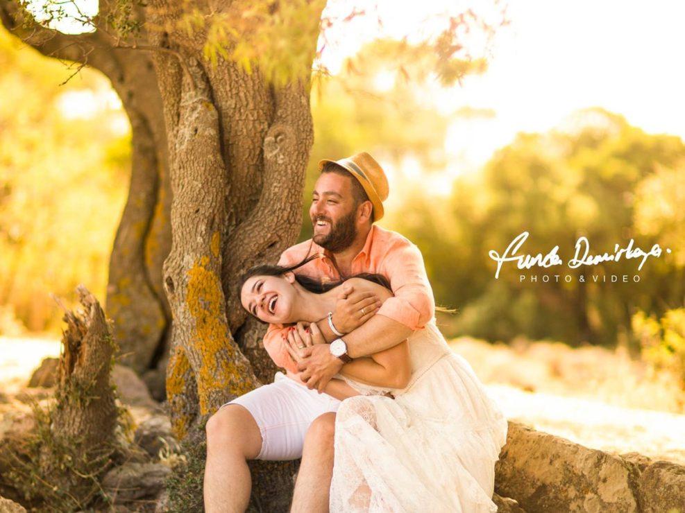 HANDAN VE AYDIN ASSOS / BABAKALE SAVE THE DATE FOTOĞRAFLARI