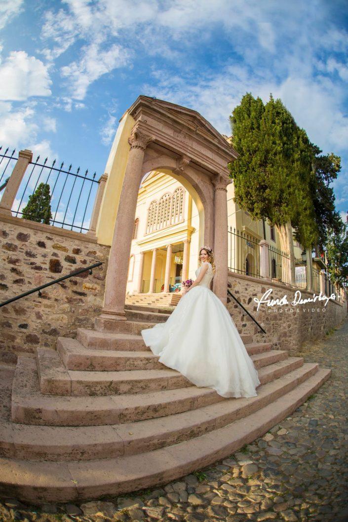 Merve ve Sercan (2) Ayvalık Cunda Balıkesir Edremit Düğün Fotoğrafçısı