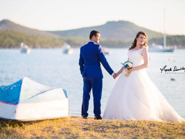 Nurgül ve Mehmet Ayvalık Cunda Düğün Fotoğrafları