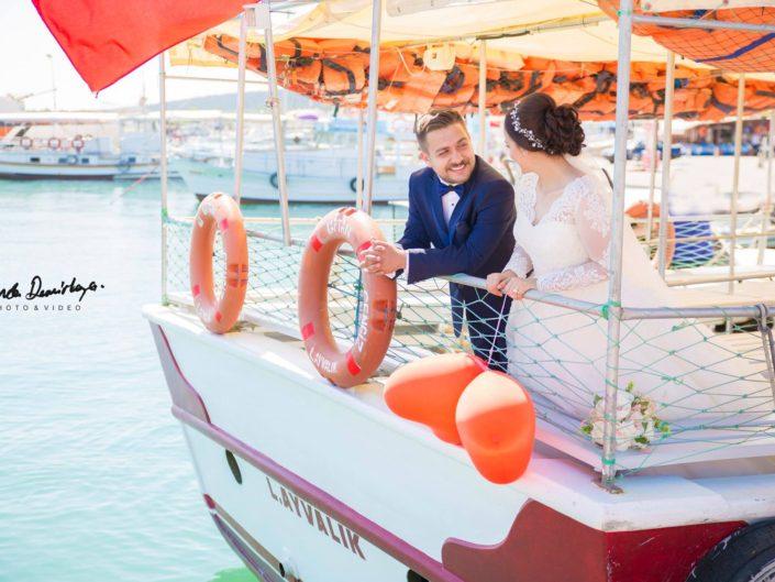 Yeşim ve Onur Ayvalık Cunda Düğün Fotoğrafları