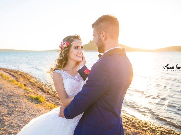 Merve ve Hasan Ayvalık Cunda Düğün Fotoğrafları