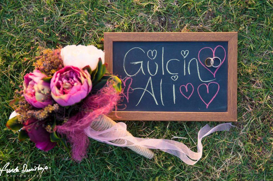 Gülçin ve Ali Ayvalık Cunda Adası Dış Çekim Düğün Fotoğrafları