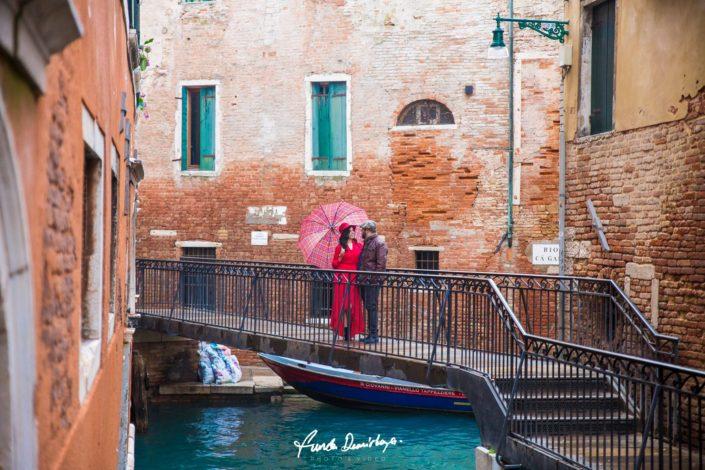 Elif ve Luca Venedik İtalya Yurtdışı Save The Date fotoğrafları (13)