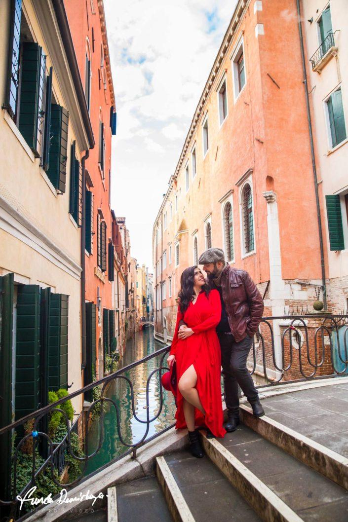 Elif ve Luca Venedik İtalya Yurtdışı Save The Date fotoğrafları (15)