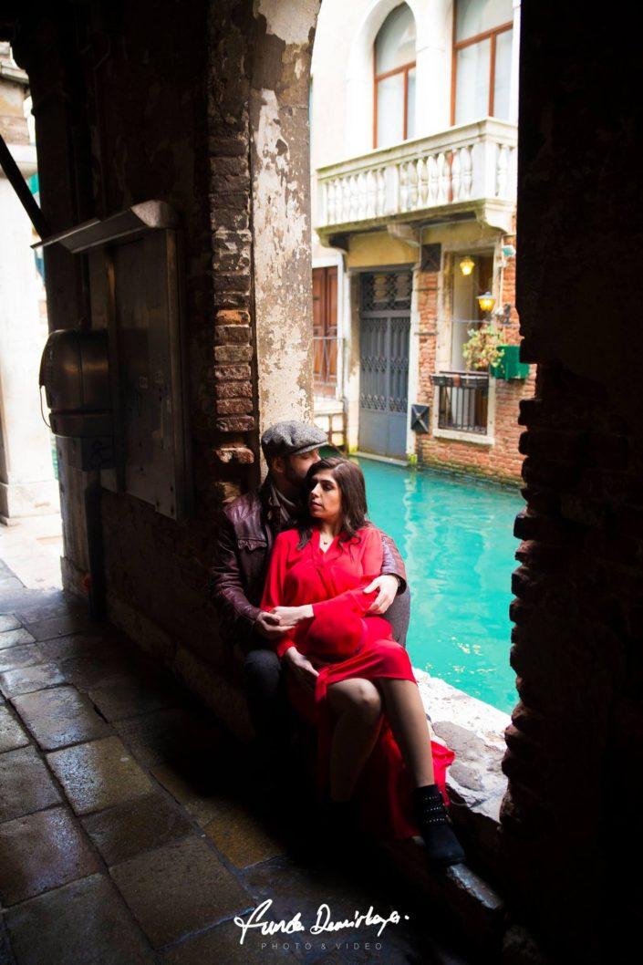 Elif ve Luca Venedik İtalya Yurtdışı Save The Date fotoğrafları (19)