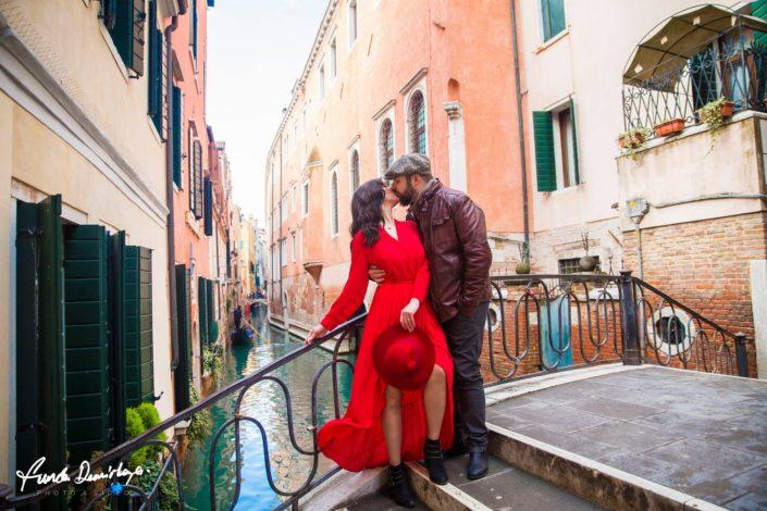 Elif ve Luca Venedik İtalya Yurtdışı Save The Date fotoğrafları (2)