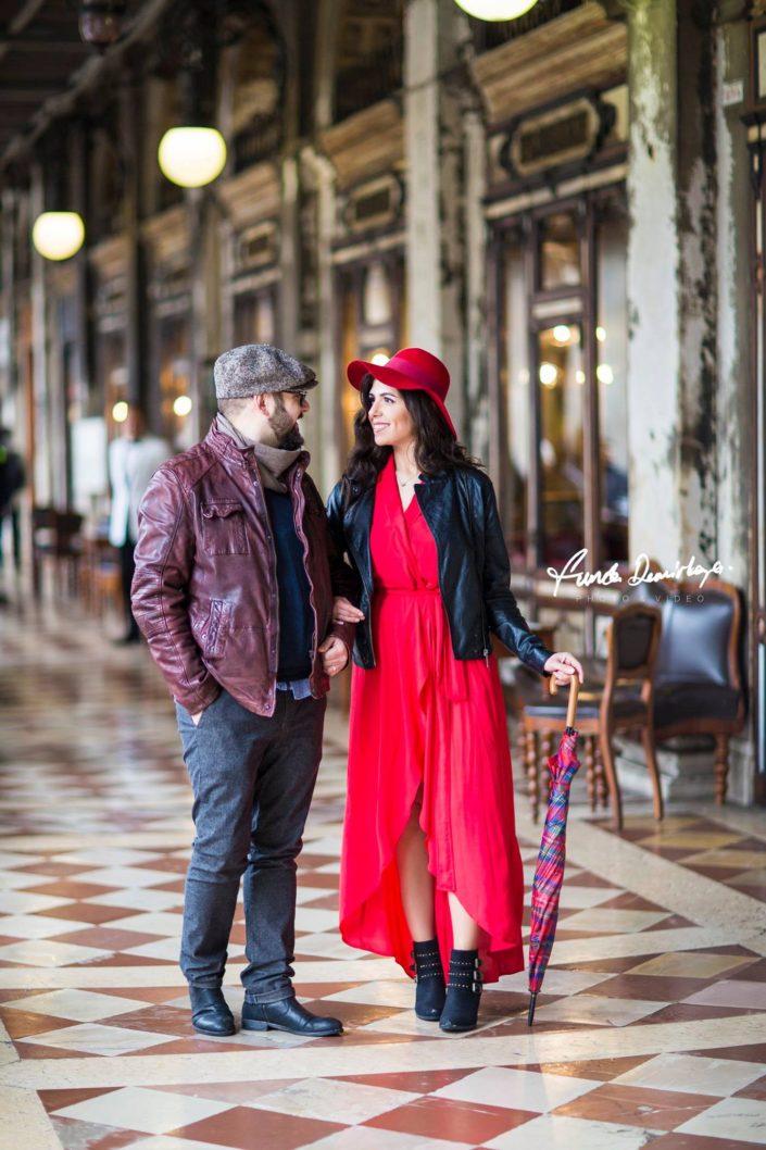 Elif ve Luca Venedik İtalya Yurtdışı Save The Date fotoğrafları (7)