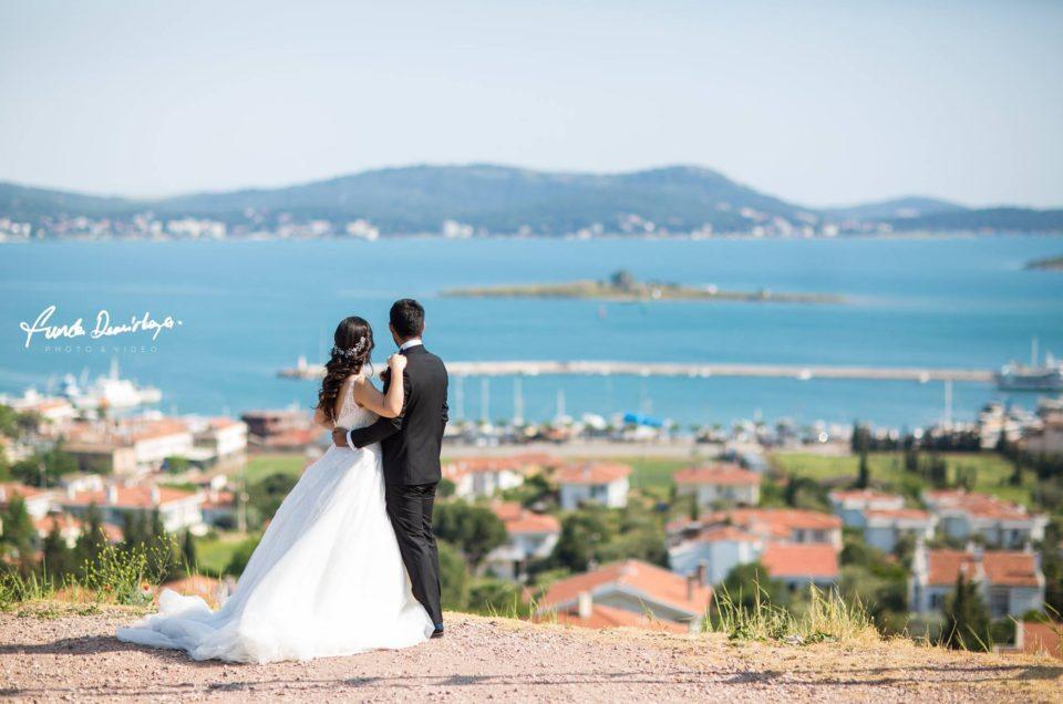 Nurhayat ve Ahmet Ayvalık / Cunda Adası Düğün Fotoğrafları
