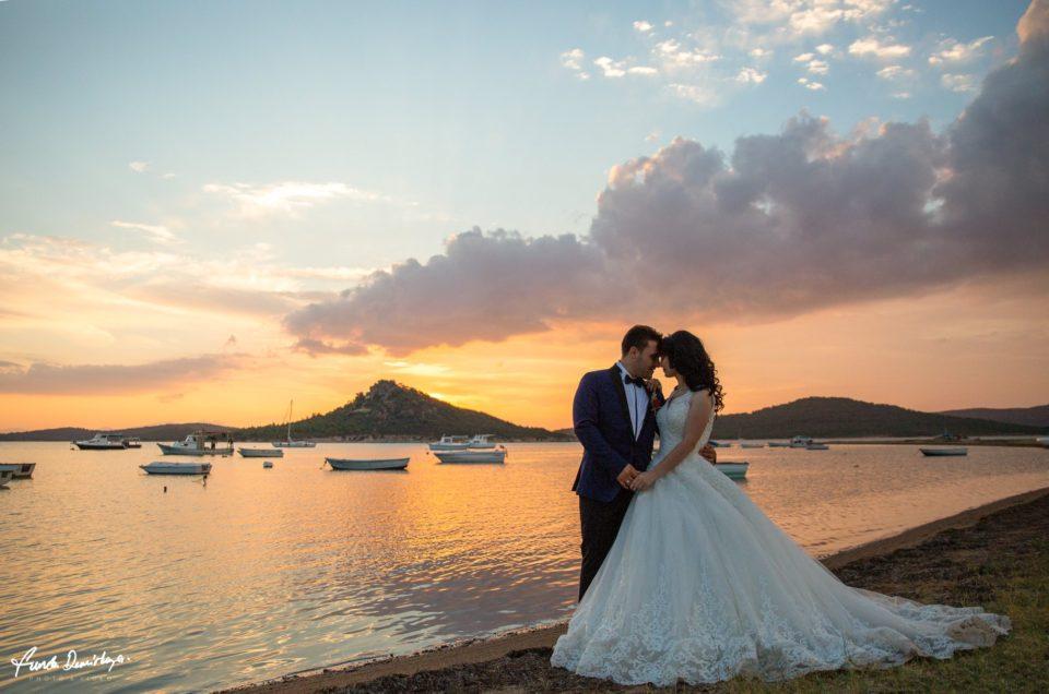 Güler ve Hüseyin Ayvalık Cunda Adası Düğün Fotoğrafları